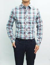 Load image into Gallery viewer, Long Sleeves Alister Green Plaid Shirt