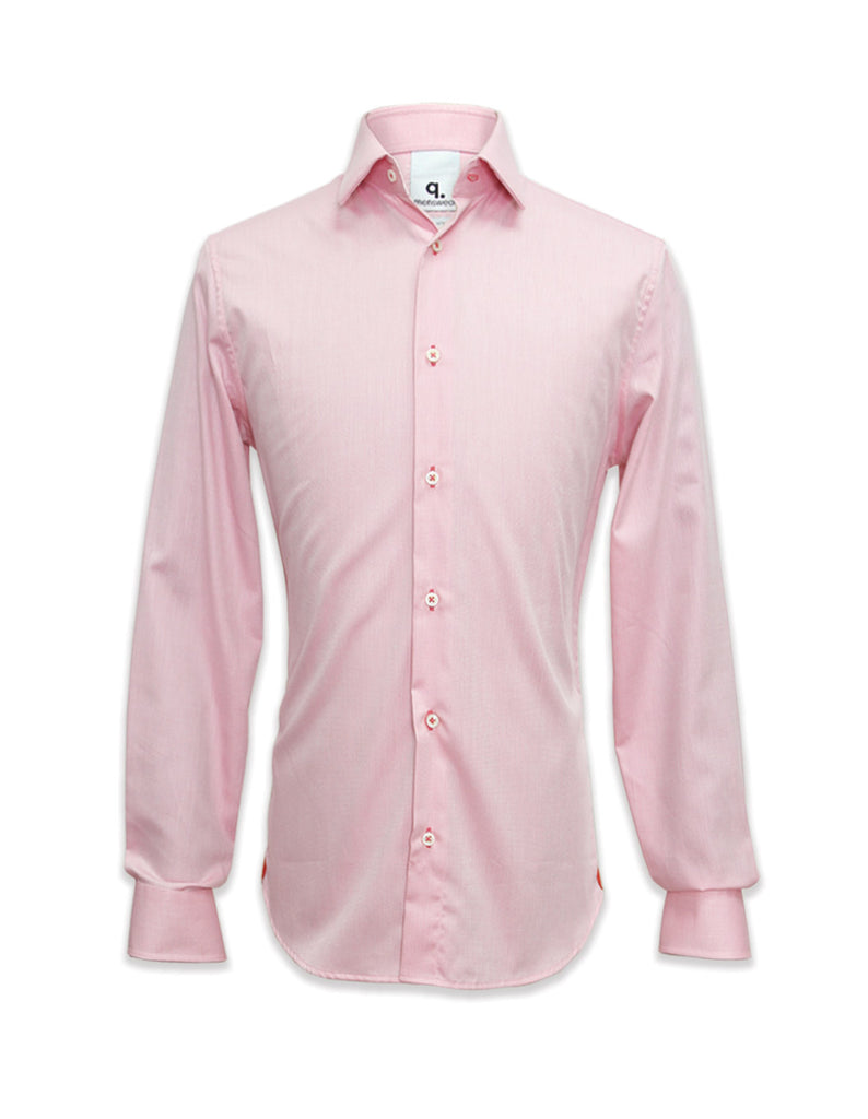 Long Sleeved Pink Hanno Shirt
