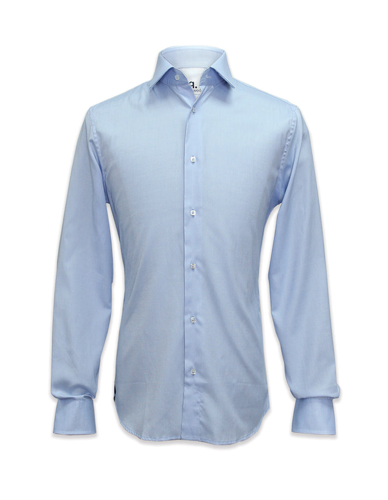 Long Sleeved Blue Somerset Shirt