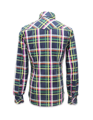 Long Sleeved Roma Plaid Shirt