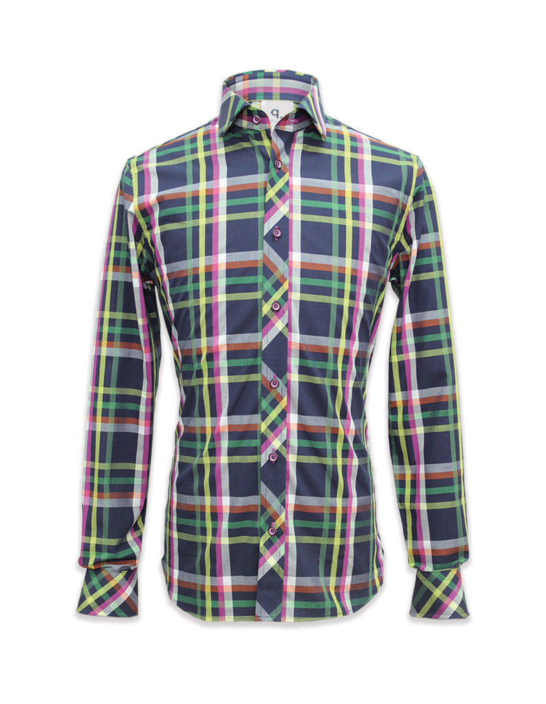 Long Sleeved Roma Checks Shirt