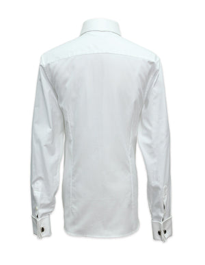 Long Sleeved Classic White French Cuffs Shirt