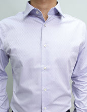 Load image into Gallery viewer, Long Sleeved Dean Lilac Blue Shirt