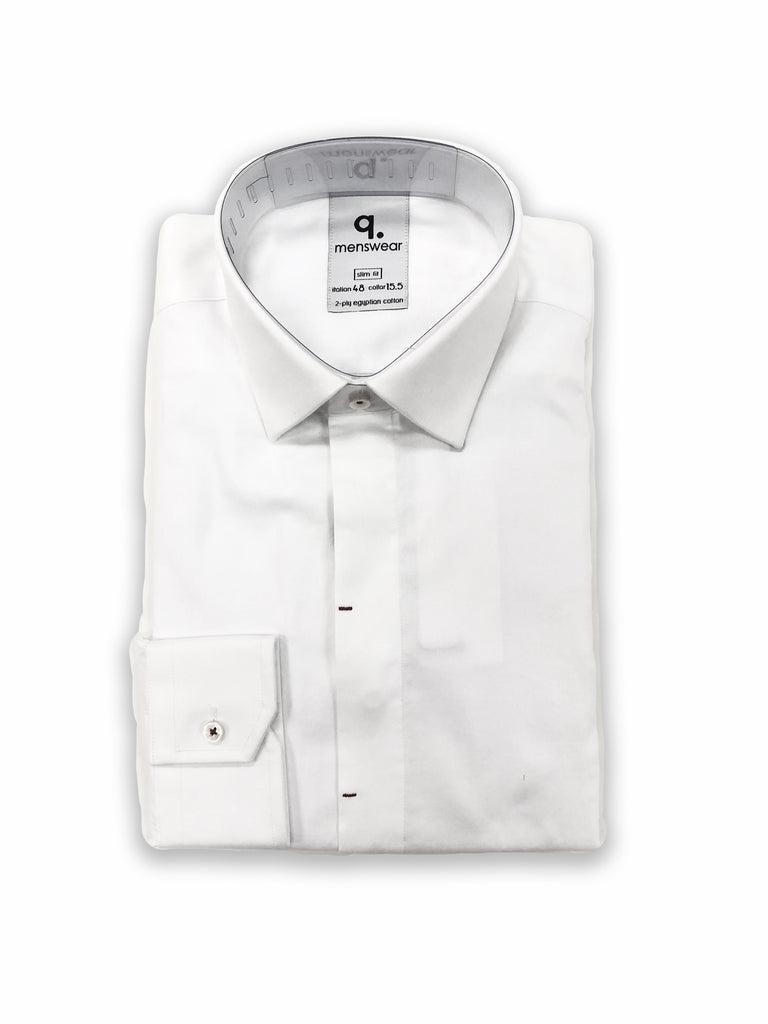 Long Sleeved White Odessa Shirt