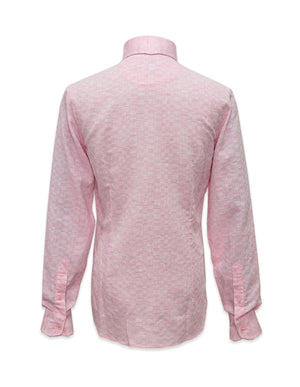 Long Sleeved Textured Shirt