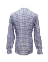 Load image into Gallery viewer, Long Sleeved Checks Shirt with White Collar