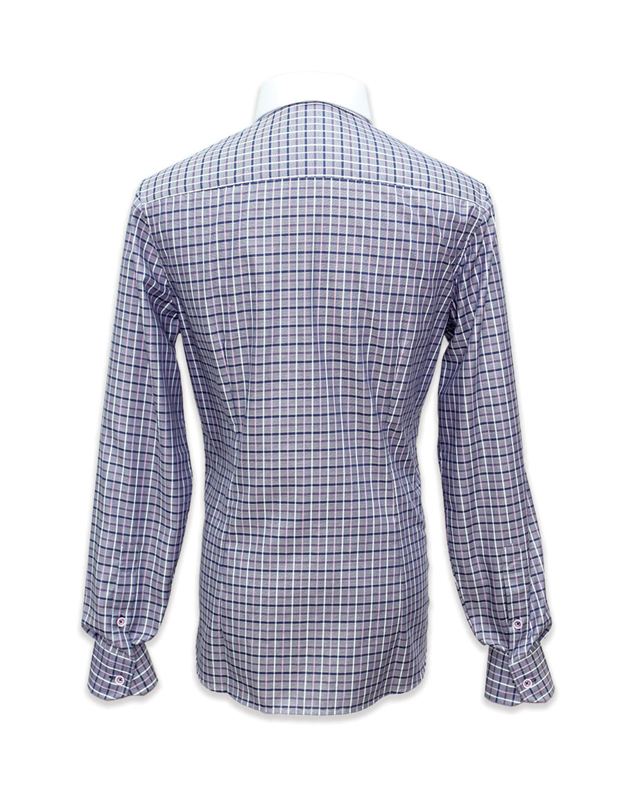 Long Sleeved Checkered Shirt