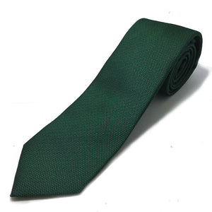 Green Textured Tie