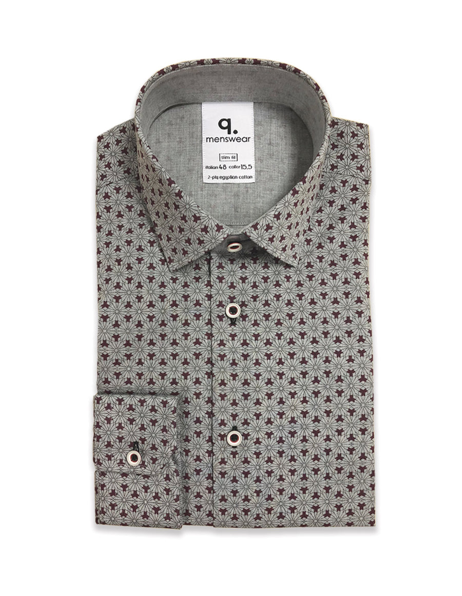 Long Sleeved Primont Plum Shirt
