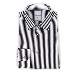 Long Sleeved Character Striped Shirt