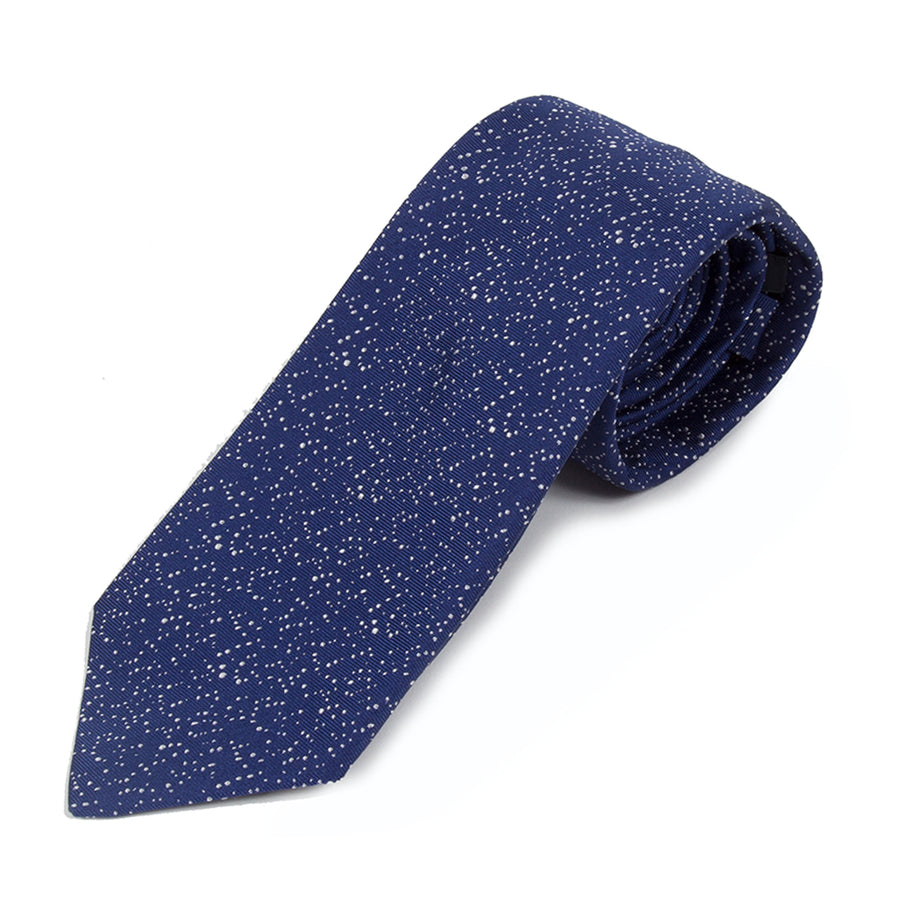 Blue Galaxy Silk Tie