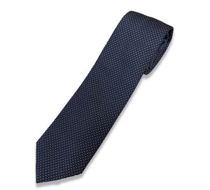 Blue small flowers tie