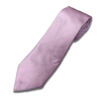 Load image into Gallery viewer, Pink Dobby Silk Tie