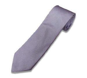 Lt Purple Dobby Silk Tie