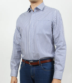 Long Sleeved Udine Striped Shirt