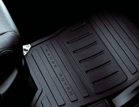 SET OF INTERIOR RUBBER FLOOR MATS - RANGE ROVER SPORT