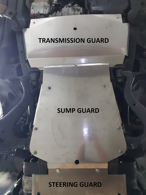 DISCOVERY 3 & 4 TRANSMISSION GUARD