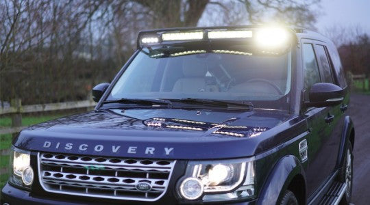 DISCOVERY 3 & 4 LIGHT BAR MOUNT