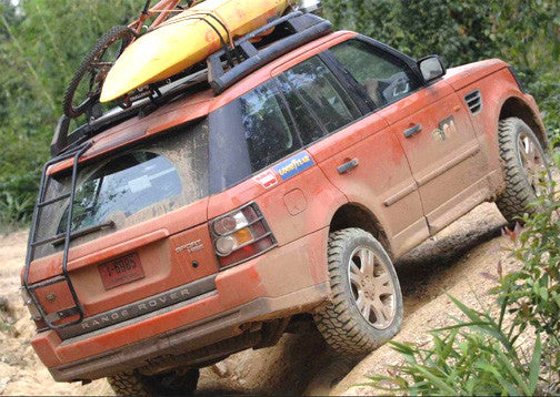 ORIGINAL G4 REAR LADDER - RANGE ROVER SPORT