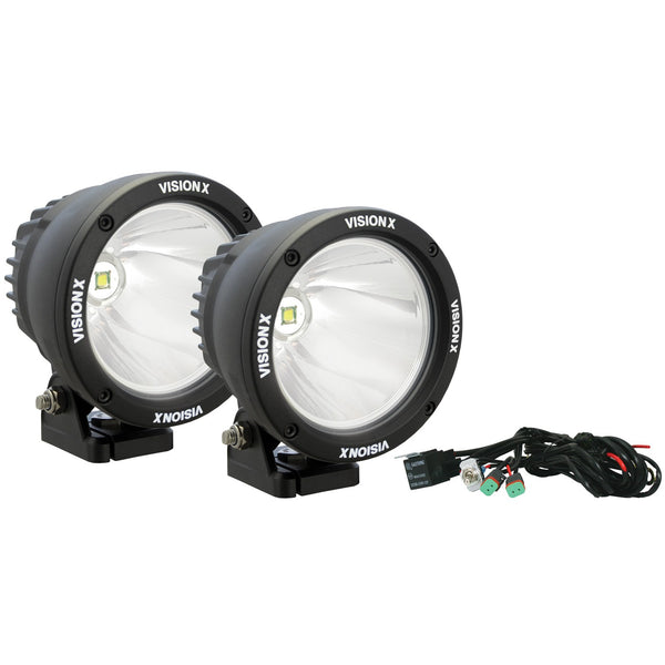 "4.5"" CANNON BLACK 25W LED LIGHT KIT"