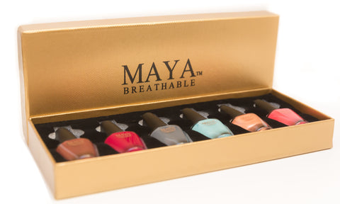 -Maya Gift Set Gold (6-piece)