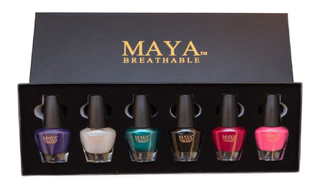 -Maya Gift Set Black (6-piece)
