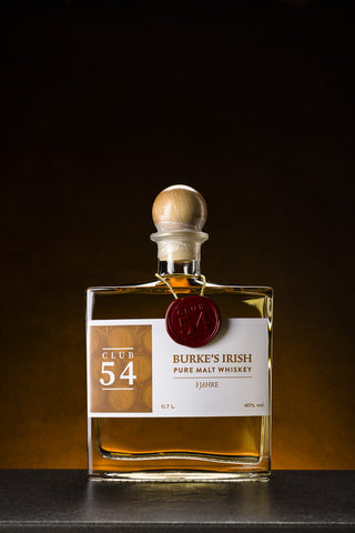 Club 54 Burke's Irish Pure Malt Whiskey (0,7 l)