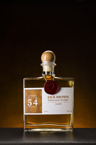 Club 54 Jack Brown Single Malt Whiskey 8 Jahre (0,7 l)