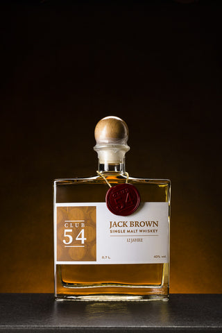 Club 54 Jack Brown Single Malt Whiskey 12 Jahre (0,7 l)
