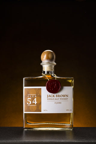 Club 54 Jack Brown Single Malt Whiskey 15 Jahre (0,7 l)
