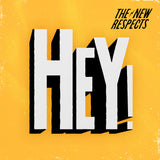 "The New Respects – Logo Tee + ""HEY!"" Single"