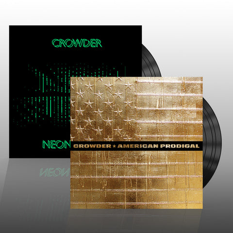 Crowder 'American Prodigal' + 'Neon Steeple' Vinyl Bundle