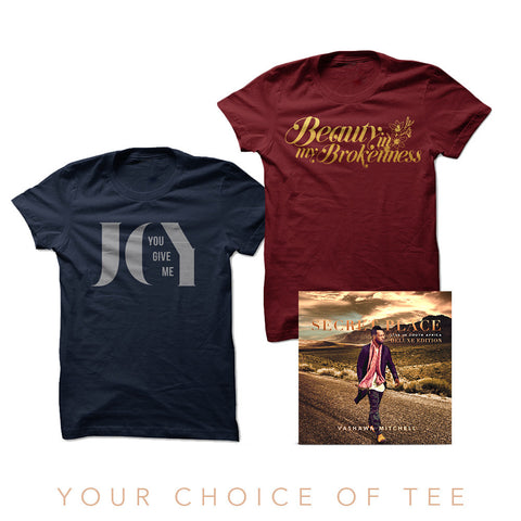 VaShawn Mitchell - Deluxe Digital Album + Your Choice Of Tee