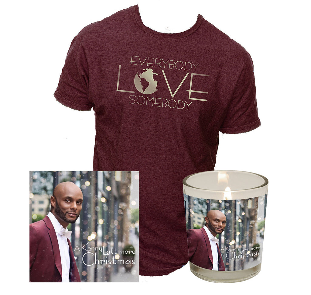 Kenny Lattimore - CD, Candle, and Tee Fanpack