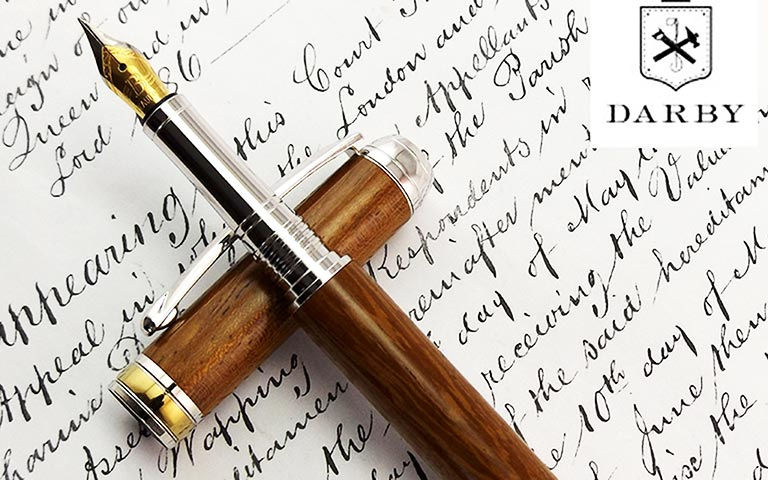 Bespoke Item | HMS Victory Wooden Fountain Pen