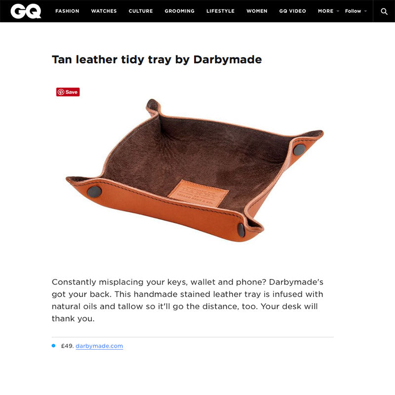 GQ Magazine | 10 Coolest Things In The World This Week Tidy Tray