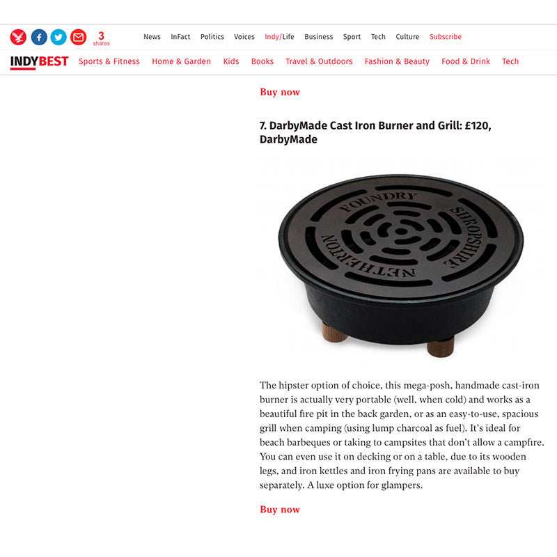 Independent | Indy Best 8 Camping Stoves