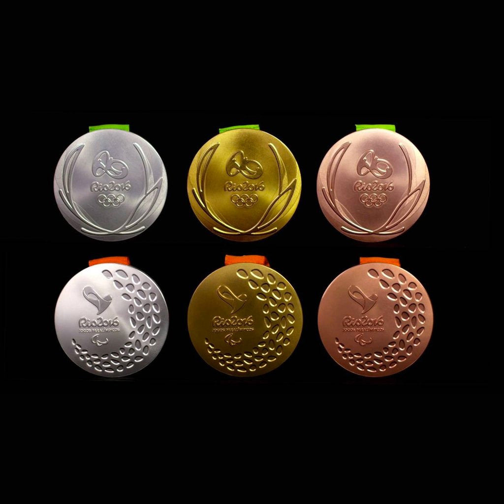 REAL OLYMPIC HEROES | HOW ARE OLYMPIC MEDALS MADE?