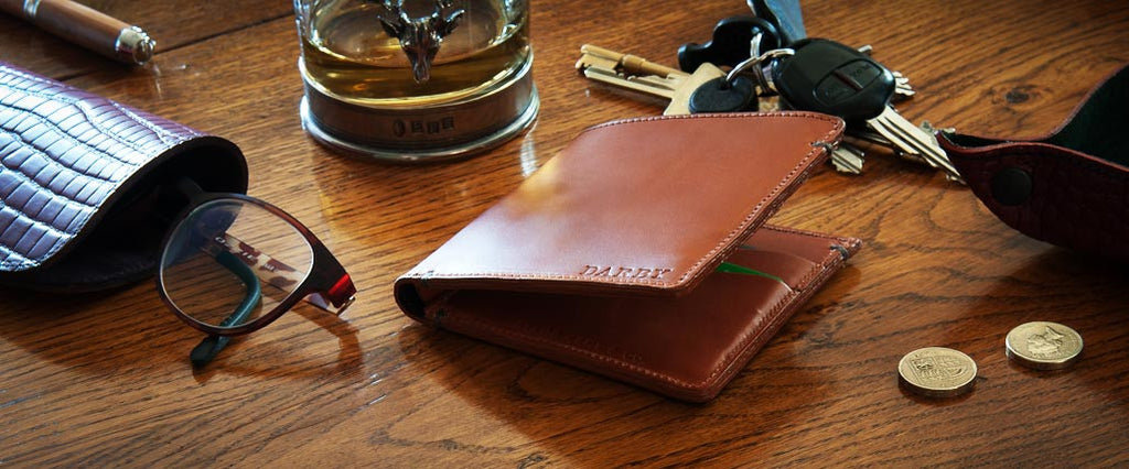 Leather Billfold Wallets