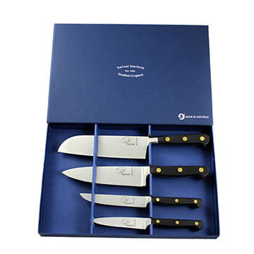 4 Piece Classic Kitchen Knife Set
