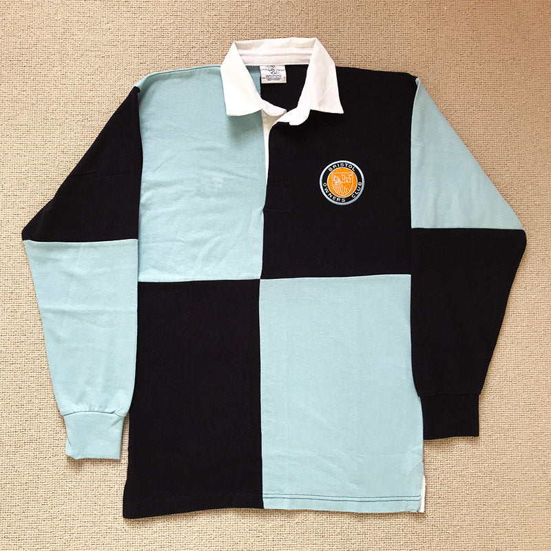 BOC Navy and Sky Blue Rugby Shirt