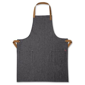 Black Denim Mens Apron