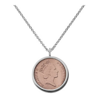 Lucky Penny Sterling Silver Pendant