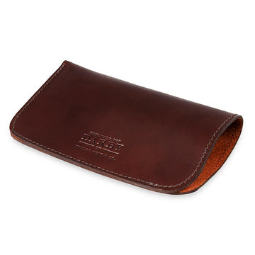 Brown Leather Glasses Case