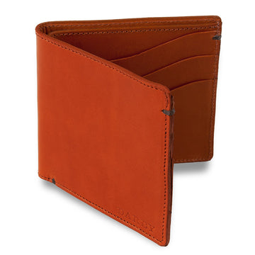 Tan Leather Billfold Wallet