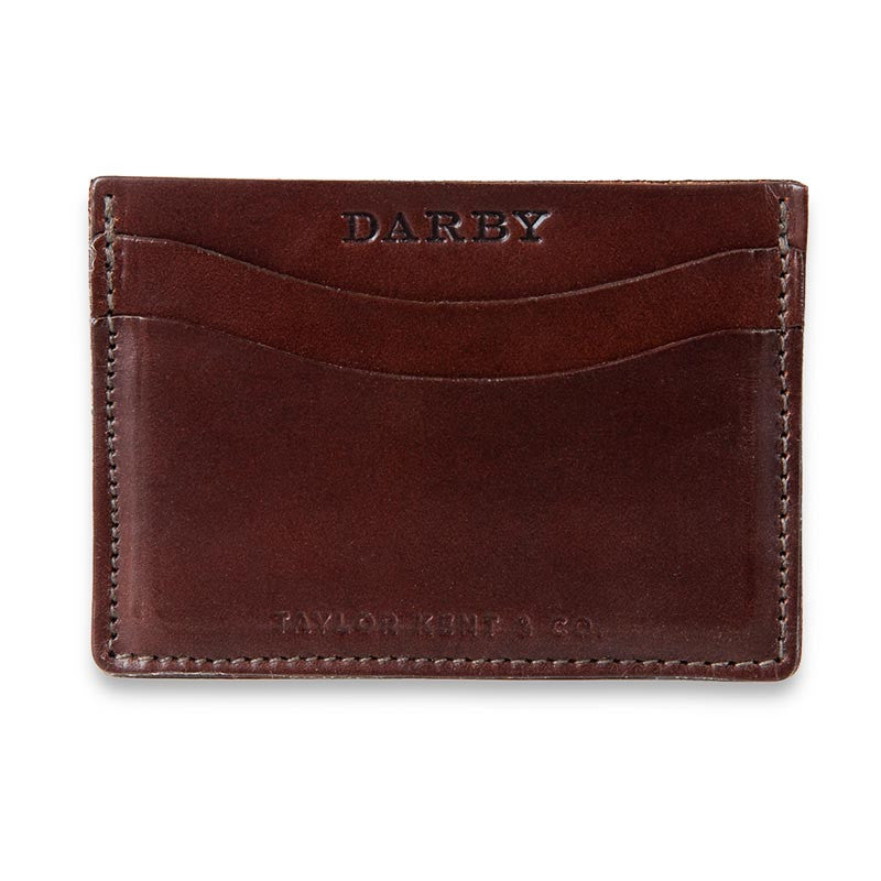 Brown Leather Leaf Wallet
