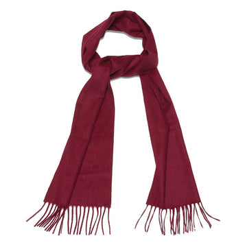 Elgin Burgundy Cashmere Mens Scarf