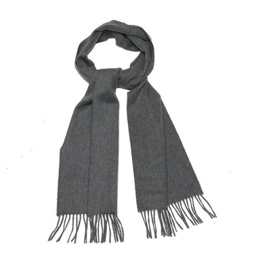 Elgin Grey Cashmere Mens Scarf