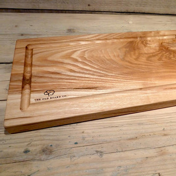 Solid Ash Extra Large Wooden Carving Board