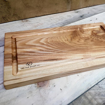 Solid Ash Large Wooden Carving Board